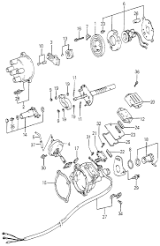 1983 honda accord 3 door dx kh 5mt distributor ponents tec