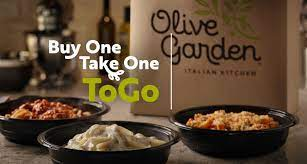 one take one togo olive garden
