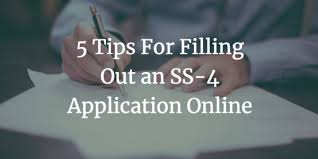 5 Tips For Filling Out An Ss 4 Application Online Webdesy