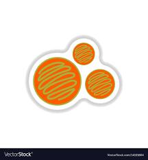 Free Cookies Sticker Design Label Icon On Design Sticker Collection Biscuits