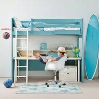 kids beds with storage and desk. Delighful Kids Kids Loft Bed With Desk U0026 Drawers  Unique Beds And With Storage