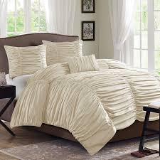 Bedroom: Bring Luxury To Your Bed With Cool Ruched Duvet Cover ... & Cheap Duvet Covers   King Duvet Cover   Ruched Duvet Cover Adamdwight.com