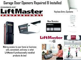 masterlift garage door openers professional garage door opener chamberlain garage door opener professional wiring liftmaster garage