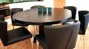 full size of dark wood round dining table large size of amazing black ash and chairs