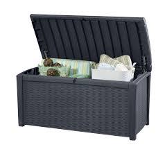 picture of borneo rattan storage deck box
