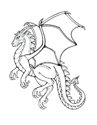 Realistic Dragon Coloring Pages Flying Dragon Coloring Pages
