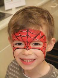 spiderman face paint cool face painting ideas for kids which transform the faces of