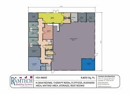Medical office layout floor plans Doctor Consulting Room Medical Exam Room And Business Offices Floor Plan Ramtech Building Systems Medicalfloorplans Ramtech