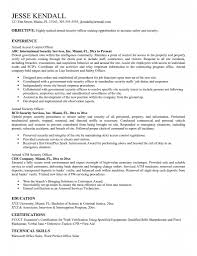 Government Armed Security Guard Cover Letter Resume Cv Cover