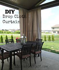 adorable outdoor canvas curtains and best 20 drop cloth in prepare 10