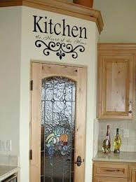 how to decorate kitchen walls kitchen vinyl wall decal kitchen the heart of the home lettering how to decorate kitchen walls
