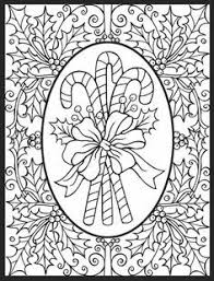 Printable Christmas Coloring Pages For Adults Fun For Christmas