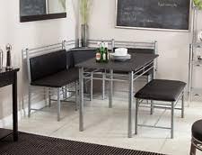 nook furniture. breakfast nook furniture table set bench corner kitchen family dining aluminum o