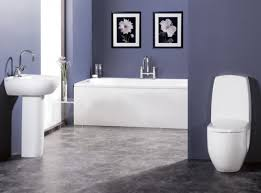Dark Blue Bathroom Bathroom Paint Light Blue