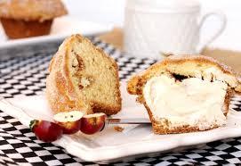 Sour cream coffee cake muffins are so light and delicate. Sour Cream Coffee Cake Muffins