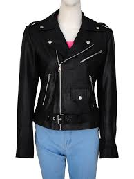 black riverdale women jacket fashionable black leather jacket