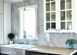 brilliant carrara marble backsplash kitchen lowe idea tile picture home depot canada grout