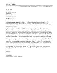 Cover Letter Internship Sample Good Cover Letter Example 1 R
