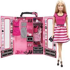 Розовый <b>шкаф Barbie с куклой</b> — купить в интернет-магазине ...
