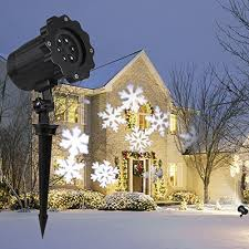 selections by chaumont battery operated led christmas lights indoor outdoor. buy now £36.99 led landscape projector lamp s\u0026g waterproof rotating white snowflake spotlight lights star selections by chaumont battery operated led christmas indoor outdoor i
