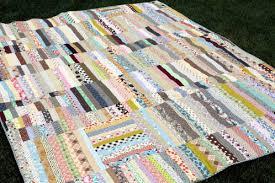 Strip Quilt from Scraps &  Adamdwight.com
