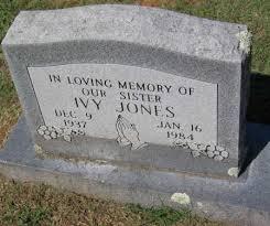 JONES, IVY - Crawford County, Arkansas | IVY JONES - Arkansas Gravestone  Photos