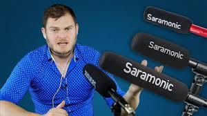 Пушки <b>Saramonic</b>. Обзор SR-TM7, SR-TM1, SR-NV5 - YouTube