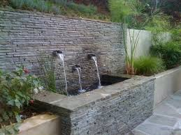 modern retaining wall driveway and courtyard contemporary landscape ideas