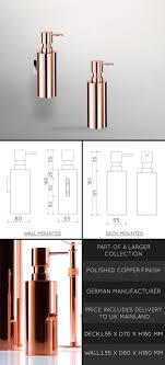 copper pump soap dispenser 56c