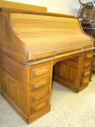 desk roll top desk oak creek by riverside hostgarcia gorgeous
