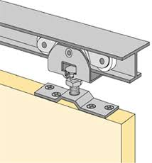 sliding door hardware. System 71111 - Sliding Door Hardware For 100 Lbs Doors H