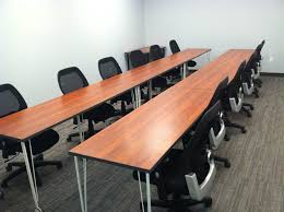 office furniture on wheels. training room tables on caster wheels wild cherry laminate office furniture e
