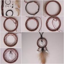 How To Make Your Own Dream Catcher How To DIY Dreamcatcher Pendant 11