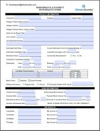 surety bond form 14 images of virginia surety bond forms template lastplant com