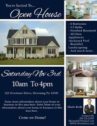 business open house flyer template open house flyers templates magdalene project org