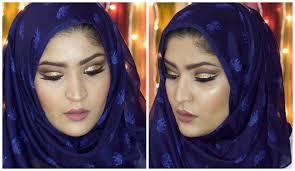 eid 2016 makeup tutorial cut crease glitter arabic eye makeup you