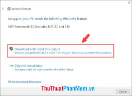 net framework 3 5 on windows 10