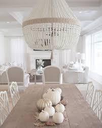 jshomedesign- Ro Sham Beaux chandelier, white beaded chandelier ...