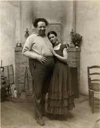 Portrait of Frida Kahlo and Diego Rivera