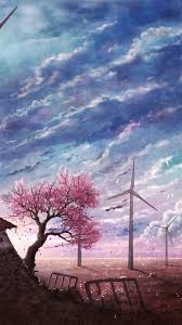 4k Wallpaper Anime Landscape ~ HD Art ...