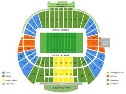 Ducks Football Seating Chart Derbybox Com Oregon State Beavers At Oregon Ducks Football