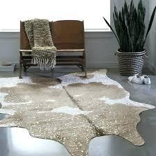 faux animal hide rugs faux animal skin rugs rug taupe ivory cowhide 3 x 5 free faux animal hide rugs