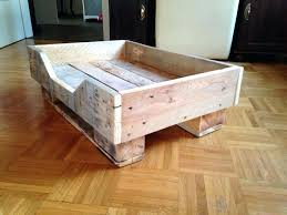 diy pallet dog bed wood pallet dog bed pallet dog bed with flat wooden legs pallets diy pallet dog bed