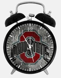 ohio state buckeye alarm desk clock 3