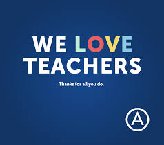 thank you teachers advancement courses although we celebrate all star teachers year round we want to take a moment to recognize how important you