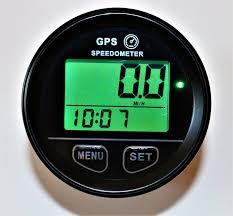 gps speedometer gps speedometer 60mm gauge odometer battery voltage digital dash 12v to 24