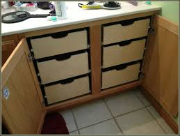 diy pull out drawers for kitchen cabinets cabinet home pull out cupboard drawers