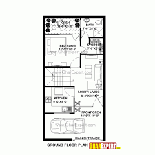 20 60 house plan east facing plans showy x