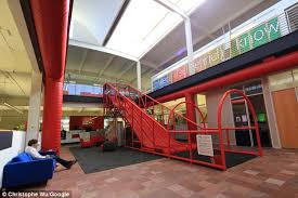 slide google office. The Youtube Offices (a Subsidary Of Google) Features A Three Lane Slide. Slide Google Office