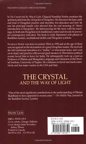 The Crystal and the Way of Light Sutra Tantra and Dzogchen